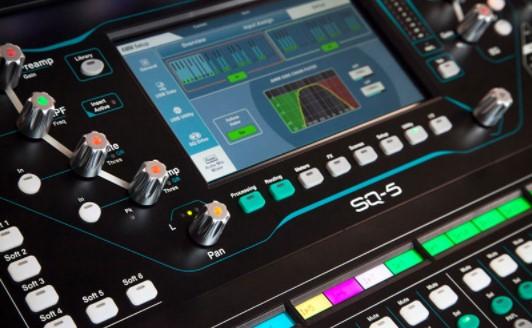 Mixer Sq-5 Chỉnh micro tự động cho hội nghị