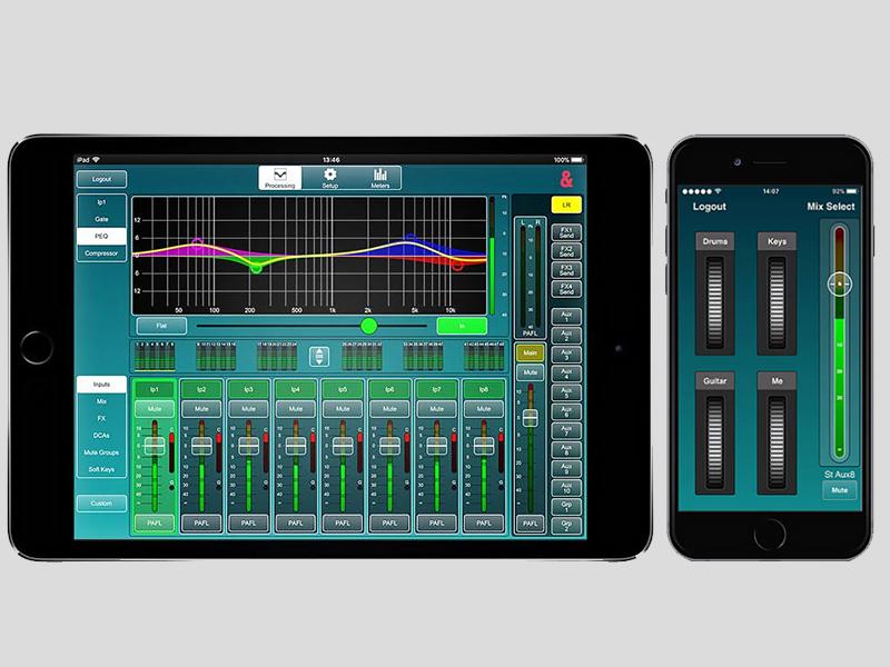 Ứng dụng điều khiển Mixer Allen Heath SQ-5 MixPad/SQ4You