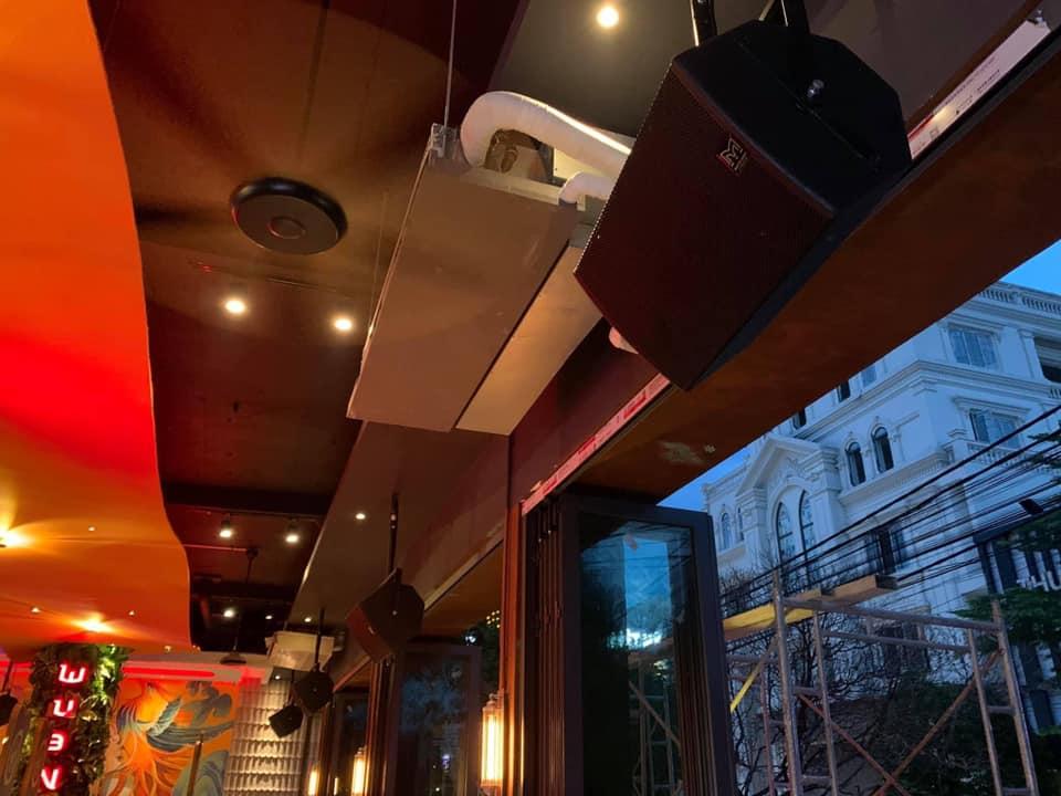 Loa Martin Audio tại nhà hàng Wuan 5 Biên Hoà