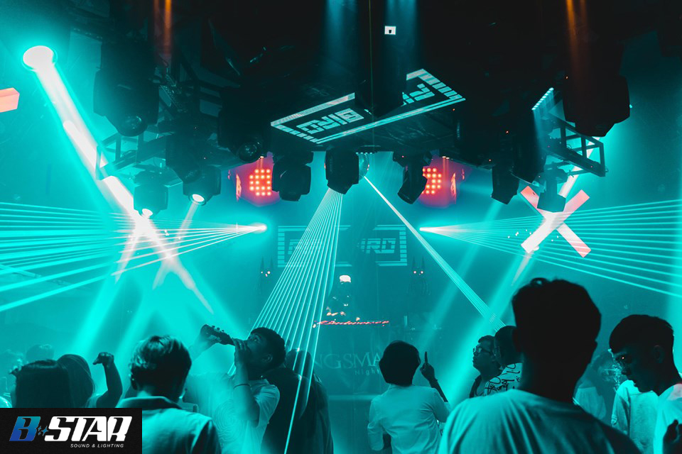 Kingsman Club Biên Hoà Bstar setup hệ thống âm thanh